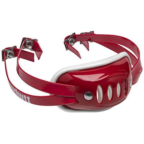 Schutt Sports SC-4 Hard Cup Chinstrap for Football Helmet, Scarlet, Youth