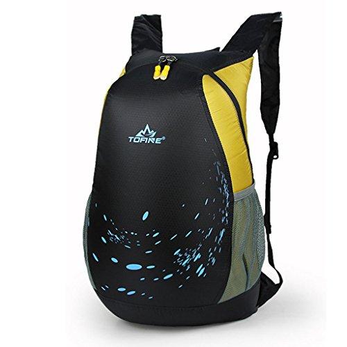 sac à bagages en nylon extérieur sac à bandoulière sacs d'alpinisme hommes et les femmes casual sac à dos de pliage coréenne