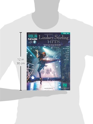 Lindsey Stirling Hits Violin Play-Along Vol. 45 Book Audio Online (Hal Leonard Violin Play-along)