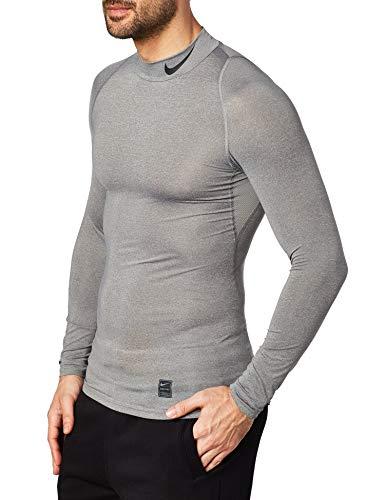 NIKE Men Pro Compression Long-Sleeve Mock Top