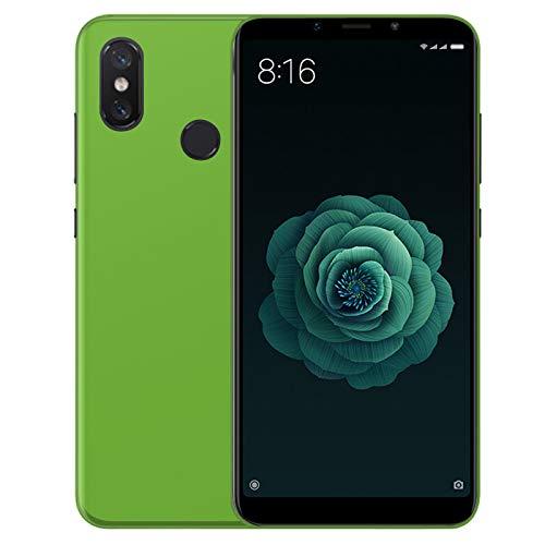 TBOC® Grün Gel TPU Hülle für Xiaomi Mi A2 (5.99 Zoll) Superdünn Flexibel Silikonhülle [Nicht Kompatibel mit [Xiaomi Mi A2 Lite]