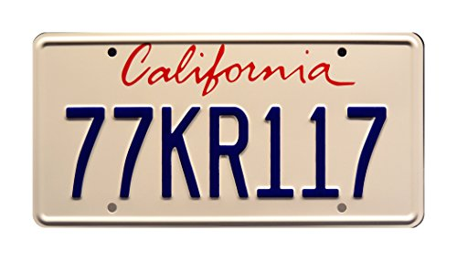 Celebrity Machines Knight Rider | 2008 Ford Mustang Shelby GT500KR | 77 KR117 | Metall Prägung Vanity Prop License Plate