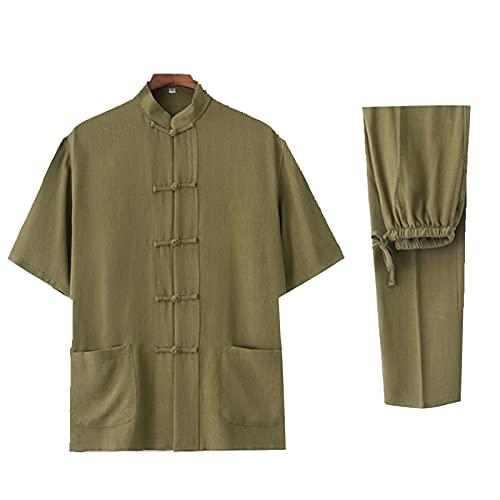 FCFLXJ Unisex Tai Chi Uniform Uniform Ropa China Tradicional