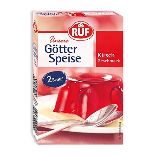 RUF Götterspeise Kirsch Wackelpudding , 14 er Pack (14 x 24g)