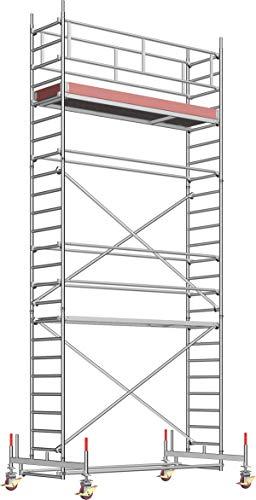 Layher Fahrgerüst Uni Standard Arbeitshöhe 7,5 m