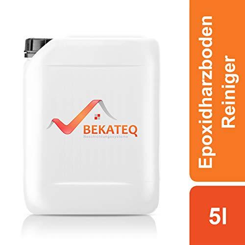 BEKATEQ BK-105 Epoxidharzboden Reiniger, 5l farblos, Kacheln, Stein, PMMA, Polyurethan, Fliesen Fußboden reinigen