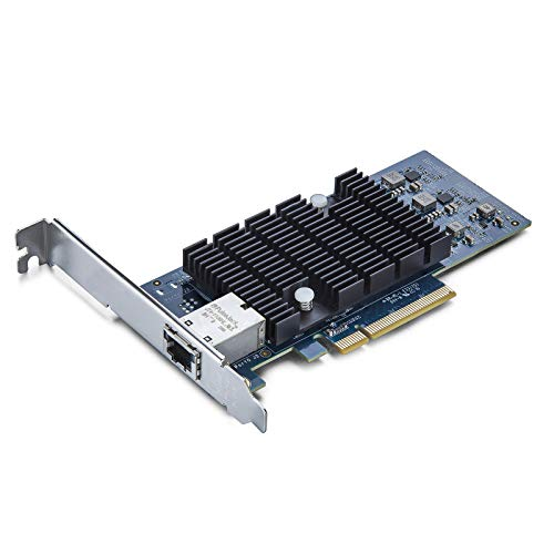 10Gtek Intel X540 Chip 10G Ethernet Konvergierten Netzwerkadapter NIC Single Copper RJ45 Port PCI Express 21 X8 Amountzu Intel X540 T1