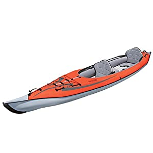 Advanced Elements ae1007-r AdvancedFrame Convertible inflable Kayak 11