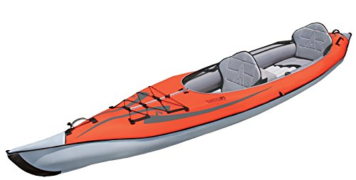 Advanced Elements AE1007-R AdvancedFrame Kayak Gonfiabile, Rosso (rot)