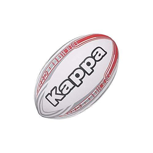 Kappa 4rugby Rahmen–Rugbyball Unisex, Unisex, Weiß/Blau/Grau, T05