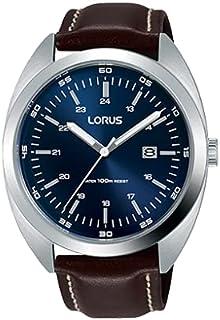 ساعة بسوار جلدي رياضي للرجال من لوروس، RH957KX9