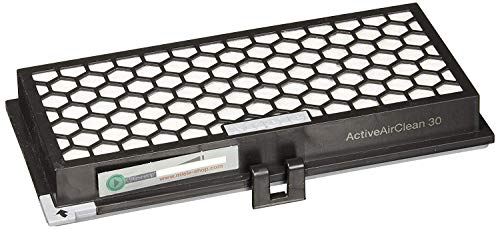 Miele 9616080 SF-AA30 Abluftfilterkassette Geruchsfilter für Staubsauger