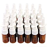 Empty Nasal Spray Bottles (0.35 oz, 24 Pack)