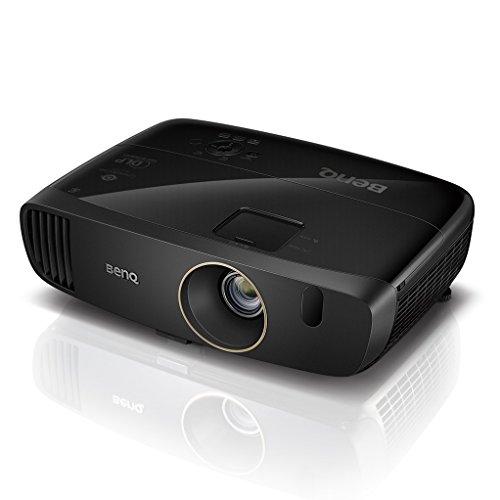 BenQ W2000+ Proiettore Home Cinema 1080p Rec. 709 100% di BenQ, 2200 Lumen, Contrasto Elevato 15000:1, Altoparlanti da 20 W, 3D, HDMI, Wireless, Serie CinePrime