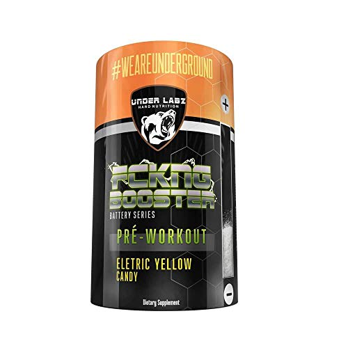 Pré-Treino Fckng Booster Under Labz Yellow Candy 600g