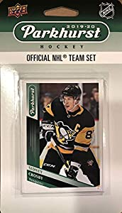 Pittsburgh Penguins 2019 2020 Upper Deck Factory Sealed 10 Card Team Set with Sidney Crosby and Evgeni Malkin Plus