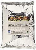 Especias Pedroza Mostaza Amarilla Molida - Paquete de 5 x 1000 gr - Total: 5000 gr