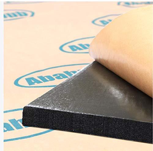 Abahub 394mil 32 sqft Car Hood Insulation Pad Auto Sound Deadener Door Dampener Deadening Mat Heat/Cool Liner, Self-Adhesive Closed Cell Material (PE Foam Sound Deadener)