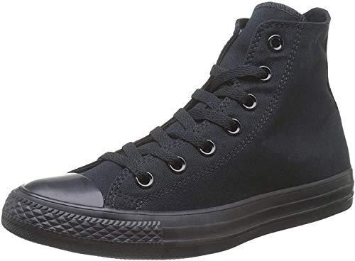 Converse Unisex M3310C C Taylor A/S Hohe Sneaker,Schwarz (Black Mono), 43