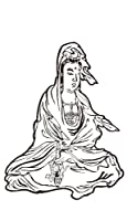 祭化粧 M147 白衣観音ミニ(8.7cm x 5cm)
