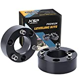KSP 3' Front Leveling Kits for Silverado 1500 2WD/4WD 2007-2019, Sierra 2WD/4WD 2007-2019, 3 Inch Suspension Strut Spacers Lift Kits for Pickup with 6 Lug