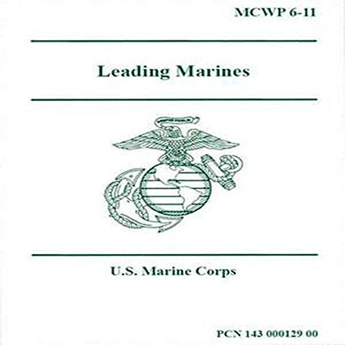 Leading Marines audiobook cover art