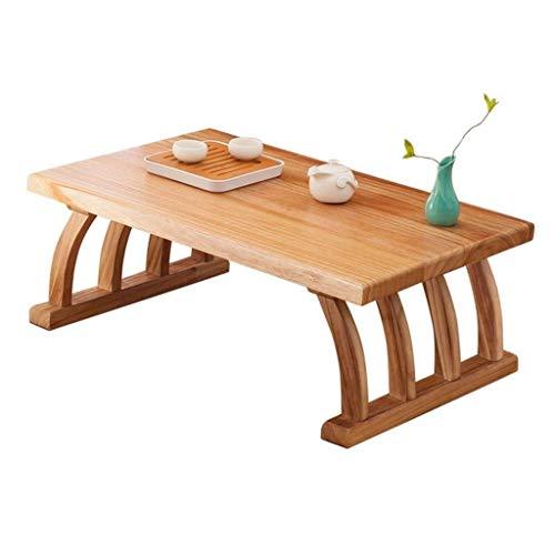 N/Z Tägliche Ausrüstung Couchtische Multifunktionsbett Niedriger Tischboden Kleines Erker Desktop Zen Japanischer Niedriger Tisch