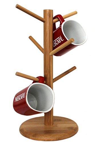Tassenständer Becherständer Ständer Bambus