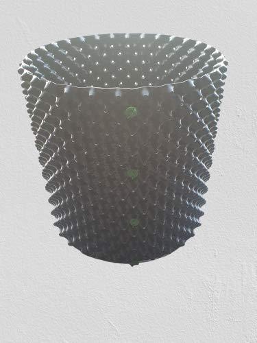 Macetero Maxpot Air de 3 a 160 litros, tamaño 100 litros, 50 x 50 cm, diámetro x altura