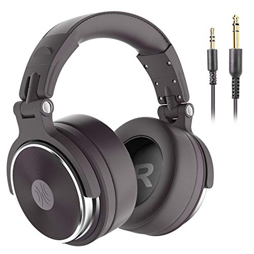 OneOdio Hi-Res Over Ear Headphone Wired Closed-Back DJ Studio Headphones...