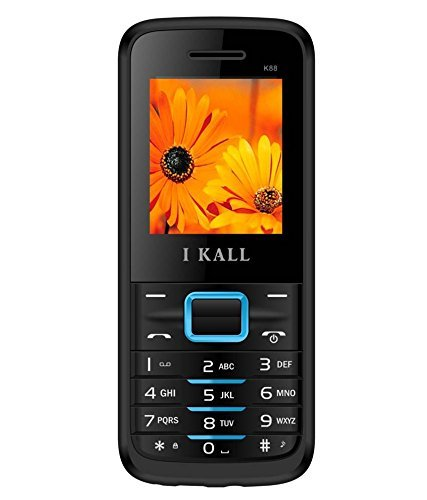 IKALL K88 18 Inch Display Feature Phone Blue Dual Sim