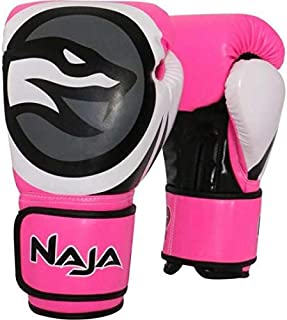 aeba9109d Luva De Boxe Naja Colors Fluor Rosa 12Oz