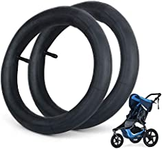 2 Pack 12.5'' x 1.75/2.15 Stroller Inner Tube, Front Wheel Replacement Tubes, Suitable for Bob Revolution (SE/Flex/Pro/Stroller Strides/Ironman), Baby Trend Expedition Series Jogger Stroller Tube
