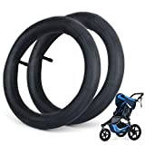 2 Pack 12.5'' x 1.75/2.15 Stroller Inner Tube, Front Wheel Replacement Tubes, Suitable