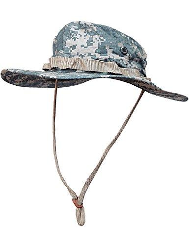 Boonie Hat Buschut GI Army Tropen Hut Camo ACU Tarn L