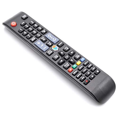 vhbw Fernbedienung passend für Samsung UE40ES5800, UE46EH5300, UE46EH5450, UE46ES5500, UE46ES5505, UE46ES5700 Fernseher, TV