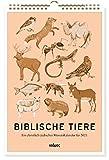 Biblische Tiere (2021). Ein christlich-jüdischer Monatskalender für 2021
