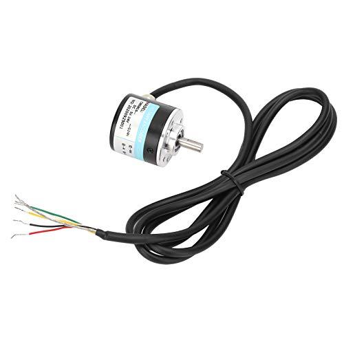 DC5-24Vインクリメンタル光学式ロータリーエンコーダソリッドシャフトABZ3相モーションコントロールコンポーネント30KHZ1000B/1024B(1024Z)