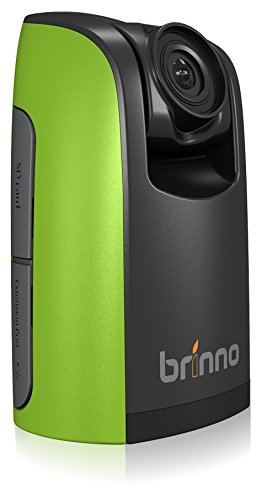 'Brinno bcc100 Construction Camera con Funda, Pantalla LCD Video 1,44, resolución 1280 x 720, Tarjeta SD 4 GB incluida, Verde/Negro