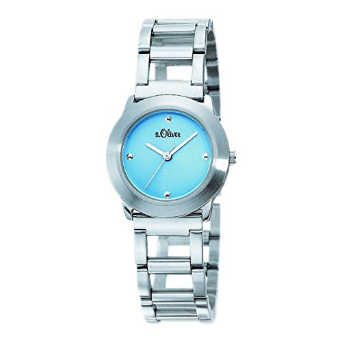 s.Oliver Damen-Armbanduhr Analog Quarz SO-15024-MQR