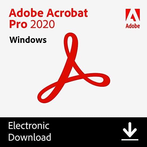 Adobe Acrobat Pro 2020 PC Online Code product image