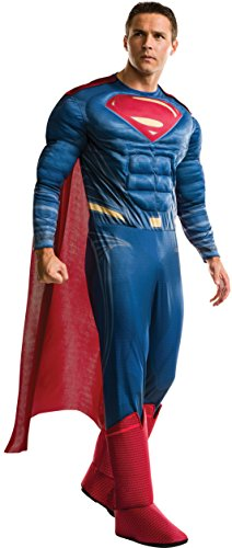 Rubie's mens Dc Comics Deluxe Superman Adult Sized Costumes, As Shown, Extra-Large US