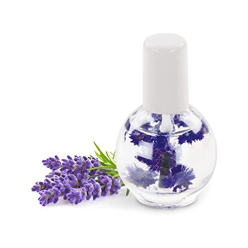 OKwife 12ml Aceite de uñas de Flores secas para Tratamiento Esmalte de uñas Gel Revitalizador de cutículas