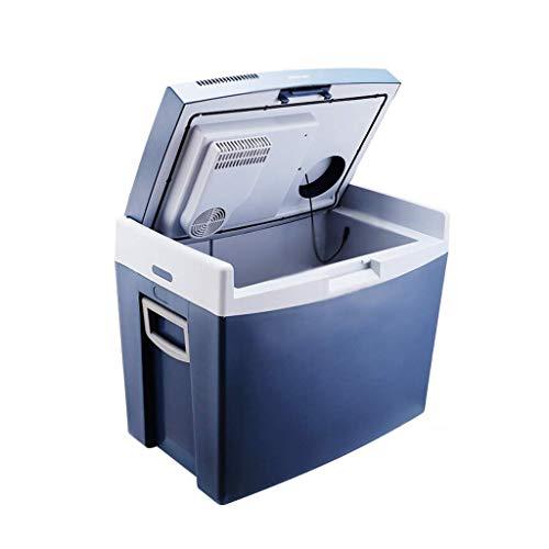 TUNBG Autokoelkast, 35 liter, voor in de auto, dual use-koel- en warbox, incubator, mini-koelkast