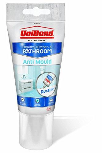 Unibond 2079321 - Sellador anti-moho para baños y cocina (), color blanco, blanco, 2079321 0 wattsW