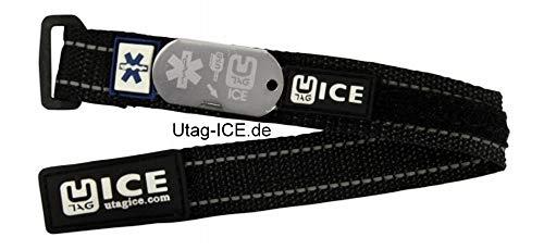 Notfall - Armband von UTAG - ICE mit SOS - Software auf USB - Stick