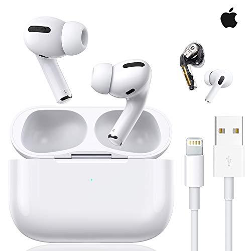 Auricular Bluetooth, Auriculares inalámbricos 3D estéreo HD, reducción de Ruido emparejamiento automático de Ventanas emergentes, para Auriculares iPhone/Android/Apple Airpods Pro/Samsung/Huawei