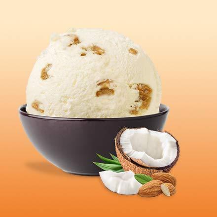Besser Eiskremliebe Kokos Mandel; 750 ml