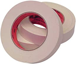 3M Scotch 214 Crepe Paper Masking Tape, 350 Degrees F Performance Temperature, 24 lbs/in Tensile Strength, 60 yds Length x 1
