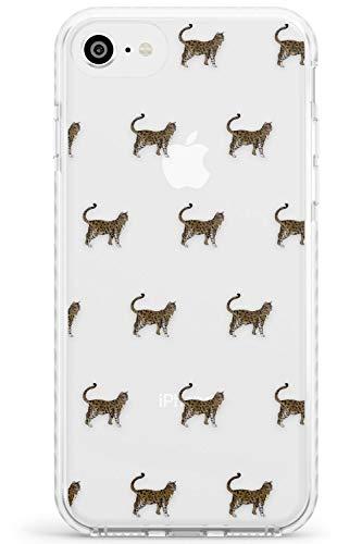 Case Warehouse Modelo del Gato de Bengala Impact Funda para iPhone 6 TPU Protector Ligero Phone Protectora con Mascota Gatito Felino Amante De Los Gatos